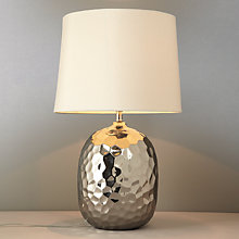 Buy John Lewis Isla Dimpled Table Lamp Online at johnlewis.com
