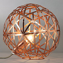 Buy John Lewis Nova Copper Ball Table Lamp Online at johnlewis.com