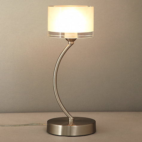 Buy John Lewis Paige Touch Table Lamp, Chrome Online at johnlewis.com