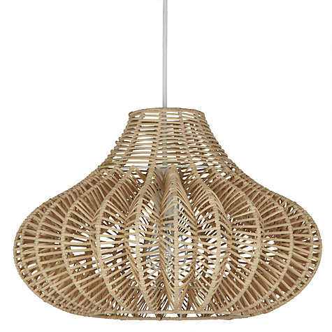 Buy John Lewis Easy-to-fit Arbor Shade, Dia.40cm Online at johnlewis.com