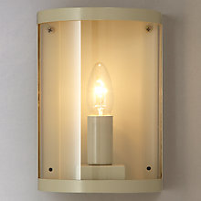 Buy Garden Trading Company Astall Outdoor Wall Light, Clay Online at johnlewis.com