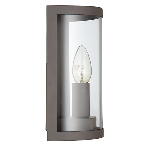 Buy Garden Trading Company Astall Outdoor Wall Light, Coffee Online at johnlewis.com