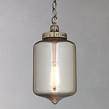 Buy John Lewis Christophe Smoked Lantern Pendant Online at johnlewis.com
