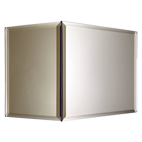 Buy John Lewis Courtney Smoke Mirrored Wall Light Online at johnlewis.com