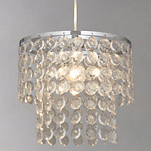 Buy John Lewis Easy-to-fit Farah Glass Disc Shade, Dia.30cm Online at johnlewis.com