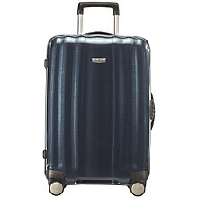 Buy Samsonite Cubelite Spinner 4-Wheel Cabin Suitcase, Navy Online at johnlewis.com