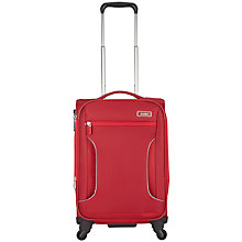 Buy Antler Cyberlite 4-Wheel 56cm Cabin Suitcase, Red Online at johnlewis.com