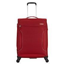 Buy Antler Cyberlite 4-Wheel Medium Spinner Suitcase, Red Online at johnlewis.com
