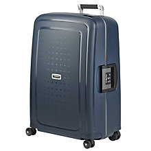 Buy Samsonite S'Cure 4-Wheel Large Spinner Suitcase Online at johnlewis.com