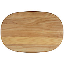 Buy John Lewis Ash Pebble Chopping Board Online at johnlewis.com