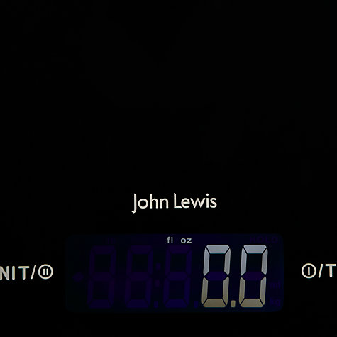 Buy John Lewis Digital Kitchen Scale, 15kg, Black Online at johnlewis.com
