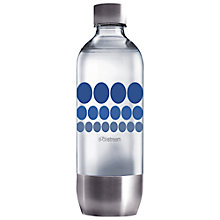 Buy SodaStream Refill Bottle, Blue, 1L Online at johnlewis.com