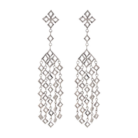 Buy Dinny Hall Almaz Large Multi Drop Earrings, Silver Online at johnlewis.com