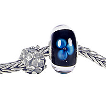 Buy Trollbeads From Me To You Charm Bracelet, Blue/Silver Online at johnlewis.com