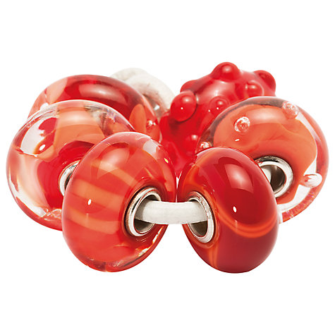 Buy Trollbeads Scarlet Armadillo Glass Bead Online at johnlewis.com