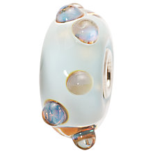 Buy Trollbeads Blue Moonstone Glass Bead Online at johnlewis.com