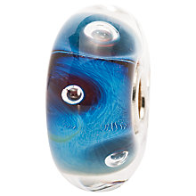 Buy Trollbeads Blue The Eye Glass Bead Online at johnlewis.com