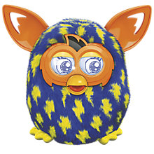 Buy Furby Boom, Blue/Yellow Lightning Online at johnlewis.com