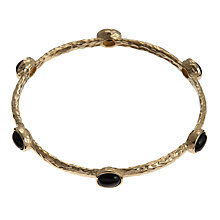 Buy Etrusca Semi Precious Stone Cabouchon Set Bangle Online at johnlewis.com