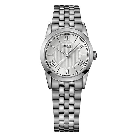 Buy Hugo Boss 1502307 Women's Stainless Steel Bracelet Strap Watch, Silver Online at johnlewis.com