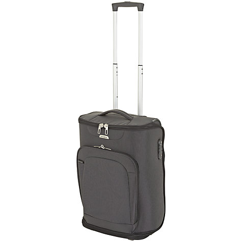 Buy Samsonite New Spark 2-Wheel Duffle Cabin Bag, Graphite Online at johnlewis.com