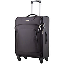 Buy Samsonite New Spark 4-Wheel Medium Spinner Suitcase, Graphite Online at johnlewis.com
