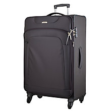 Buy Samsonite New Spark 4-Wheel Spinner Large Suitcase, Graphite Online at johnlewis.com