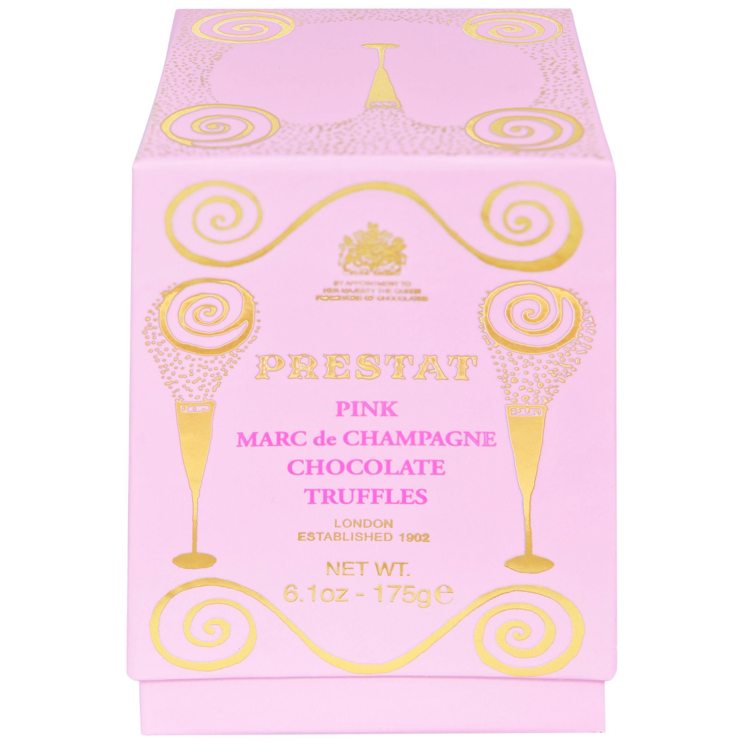 Prestat Prestat Marc de Champagne Pink Chocolate Truffles, 175g