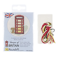 Buy Mouseloft Cross-Stitch Kit, Red Telephone Box Online at johnlewis.com
