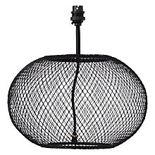 Buy John Lewis Nicholas Wirework Lamp Base Online at johnlewis.com