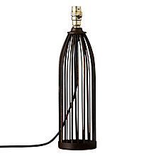 Buy John Lewis Scarlett Cage Lamp Base Online at johnlewis.com
