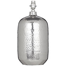 Buy John Lewis Squoval Lamp Base, Nickel Online at johnlewis.com