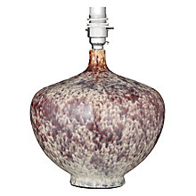 Buy John Lewis Dhalia Glaze Pot Lamp Base Online at johnlewis.com