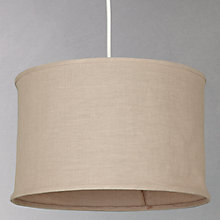 Buy John Lewis Easy-to-fit Jacob Linen Shade, Dia.40cm Online at johnlewis.com