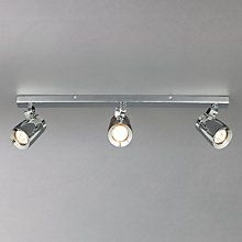 Buy John Lewis Knight 3 Bar Bathroom Spotlight Online at johnlewis.com