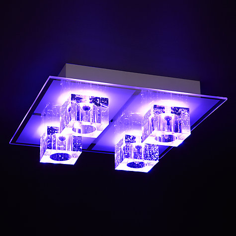 Buy John Lewis Spectra Colour Changing Flush Light Online at johnlewis.com