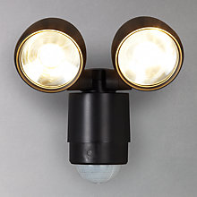 Buy Luxform Umbriel Twin PIR Sensor Security LED Light Online at johnlewis.com