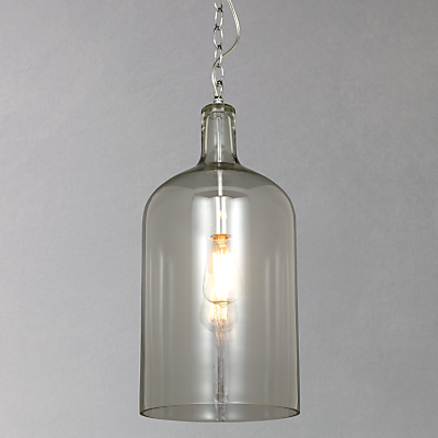 John Lewis Croft Collection William Bottle Glass Pendant