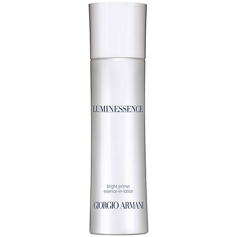 Buy Giorgio Armani Luminessence Bright Primer Essence-in-Lotion, 100ml Online at johnlewis.com