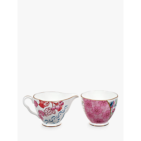Buy Wedgwood Butterfly Bloom Sugar Bowl and Creamer Online at johnlewis.com