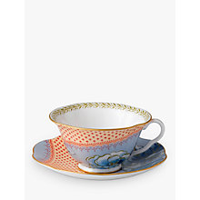 Buy Wedgwood Butterfly Bloom Cup and Saucer Set, Orange Online at johnlewis.com
