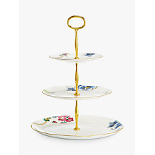 Buy Wedgwood Butterfly Bloom Three Tier Cake Stand Online at johnlewis.com