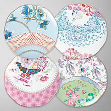 Buy Wedgwood Butterfly Bloom Tea Plates, Set of 4 Online at johnlewis.com