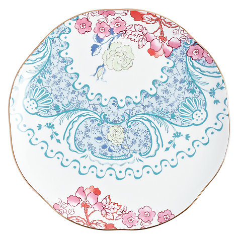 Buy Wedgwood Butterfly Bloom Tea Plates, Set of 4, Dia.21cm Online at johnlewis.com