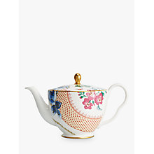 Buy Wedgwood Butterfly Bloom Teapot Online at johnlewis.com