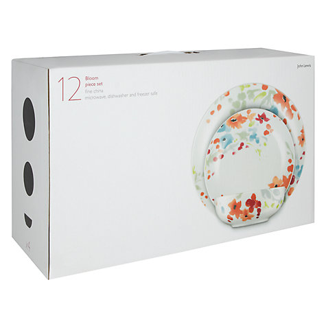 Buy John Lewis Bloom Boxed Set, 12 Piece Online at johnlewis.com