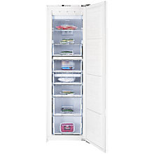 Buy Beko BZ77F Tall Integrated Freezer, A+ Energy Rating, 55cm Wide Online at johnlewis.com