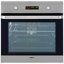 Buy Beko OIM22500XP Single Electric Oven, Stainless Steel Online at johnlewis.com