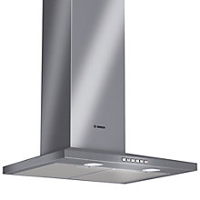 Buy Bosch DWW06D650B Chimney Cooker Hood, Brushed Steel Online at johnlewis.com