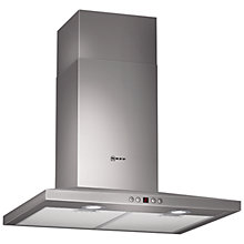 Buy Neff D66S45N0GB Chimney Cooker Hood, Stainless Steel Online at johnlewis.com